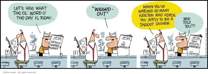 Comic Strip Mike Lester  Mike du Jour 2021-10-20 you