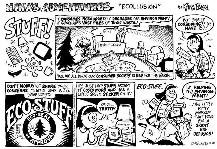 Comic Strip Nina Paley  Nina's Adventures 1999-10-24 pollution