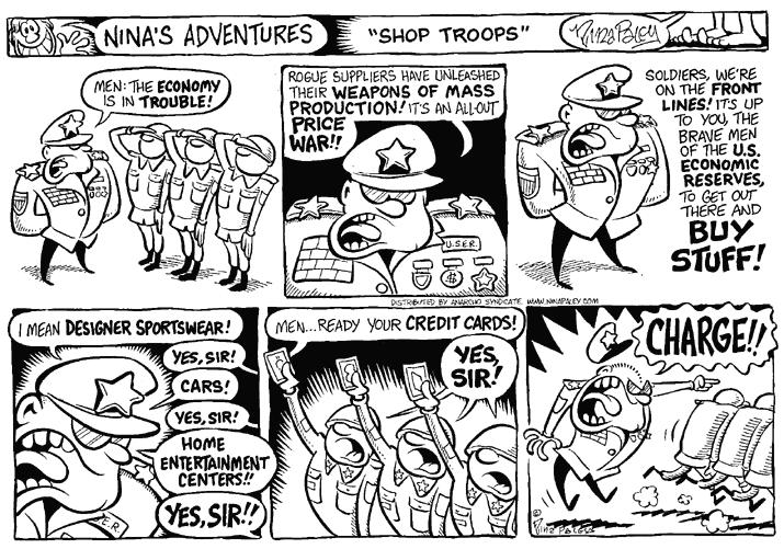 Comic Strip Nina Paley  Nina's Adventures 1999-09-26 war