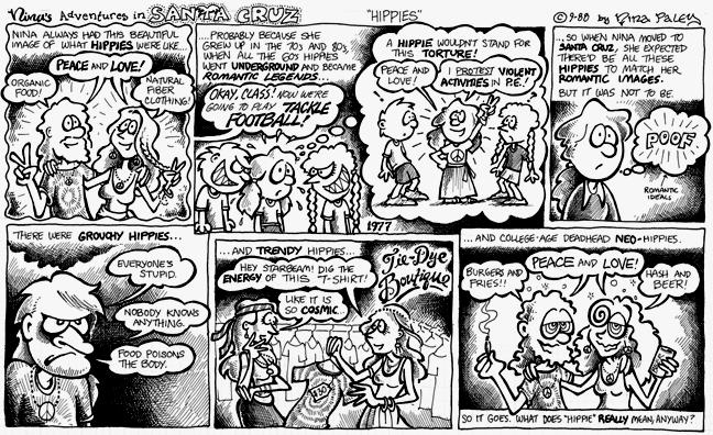 Comic Strip Nina Paley  Nina's Adventures 1988-09-00 grouchy