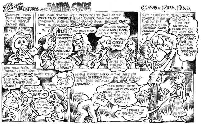 Comic Strip Nina Paley  Nina's Adventures 1988-09-01 profile