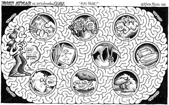 Comic Strip Nina Paley  Nina's Adventures 1988-11-28 psychotherapy
