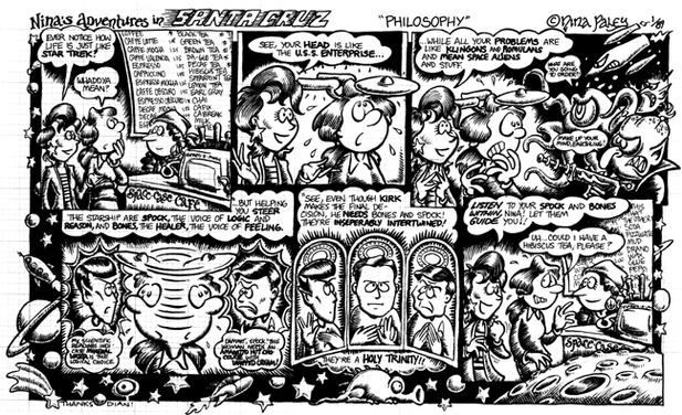 Comic Strip Nina Paley  Nina's Adventures 1989-01-01 character