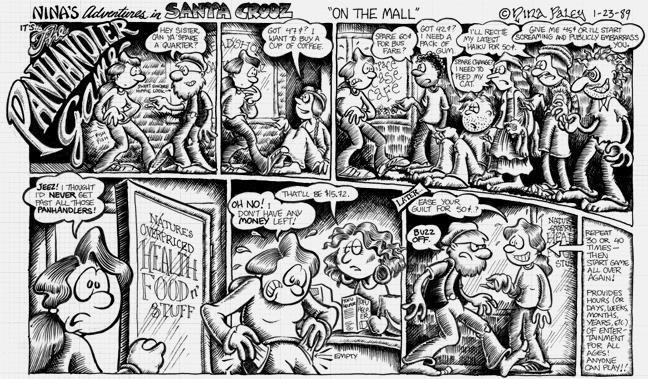 Comic Strip Nina Paley  Nina's Adventures 1989-01-23 health