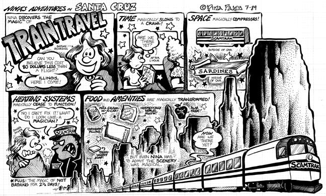 Comic Strip Nina Paley  Nina's Adventures 1989-07-00 car