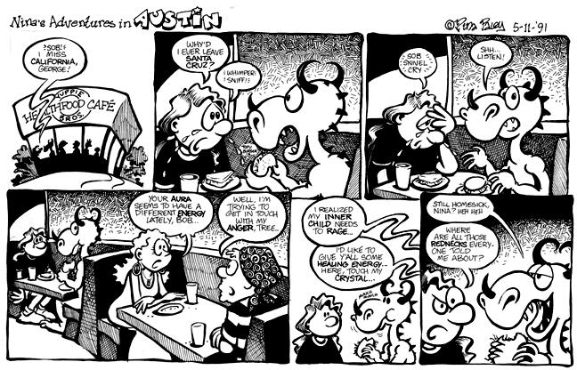 Comic Strip Nina Paley  Nina's Adventures 1990-05-11 live