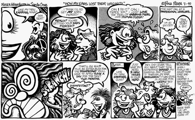 Comic Strip Nina Paley  Nina's Adventures 1990-07-01 how was your day