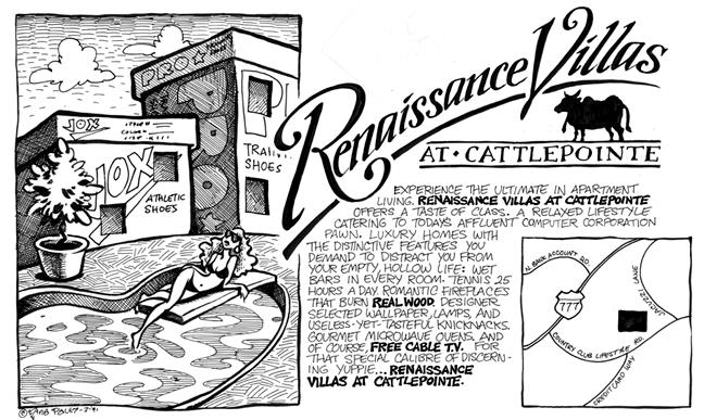 Comic Strip Nina Paley  Nina's Adventures 1991-07-03 room
