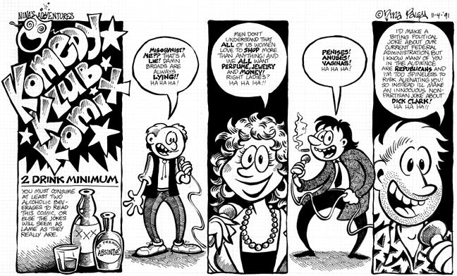 Comic Strip Nina Paley  Nina's Adventures 1991-11-04 Nina