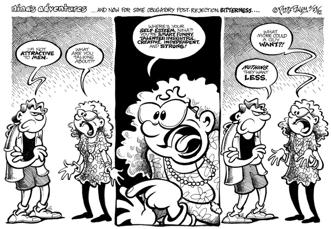 Comic Strip Nina Paley  Nina's Adventures 1992-10-24 profile