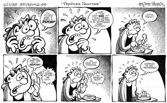 Comic Strip Nina Paley  Nina's Adventures 1993-02-26 disorder