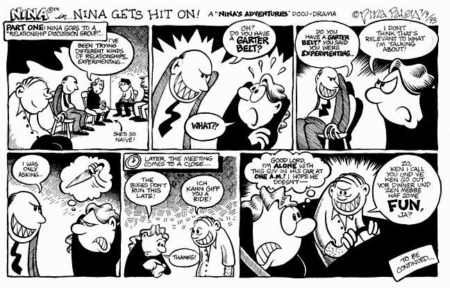 Comic Strip Nina Paley  Nina's Adventures 1993-07-09 car