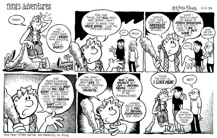 Comic Strip Nina Paley  Nina's Adventures 1993-08-13 sex