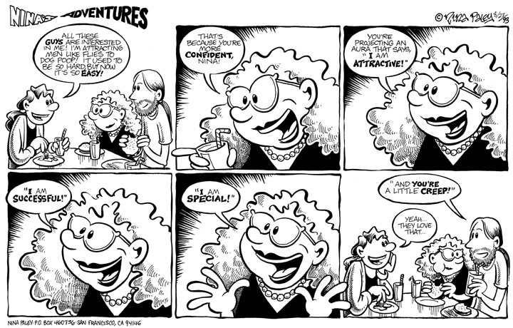 Comic Strip Nina Paley  Nina's Adventures 1993-08-27 character