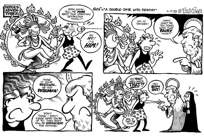 Comic Strip Nina Paley  Nina's Adventures 1993-12-24 Nina