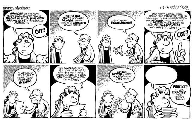 Comic Strip Nina Paley  Nina's Adventures 1994-06-03 Nina