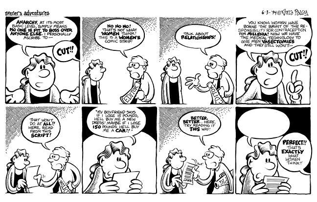 Comic Strip Nina Paley  Nina's Adventures 1994-06-03 contraception