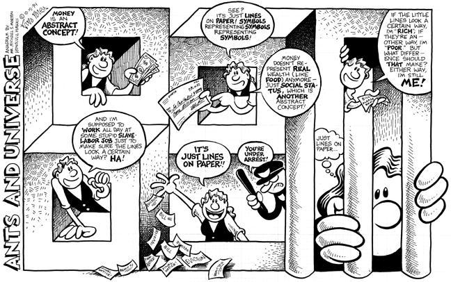 Comic Strip Nina Paley  Nina's Adventures 1994-10-15 food