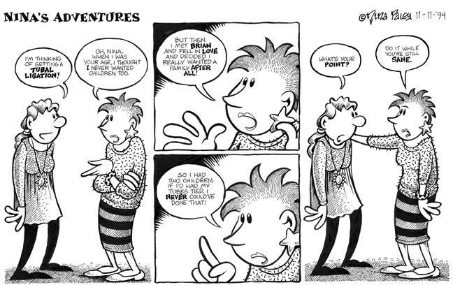 Comic Strip Nina Paley  Nina's Adventures 1994-11-11 contraception