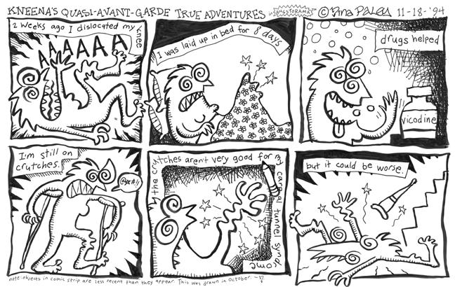 Comic Strip Nina Paley  Nina's Adventures 1994-11-18 health