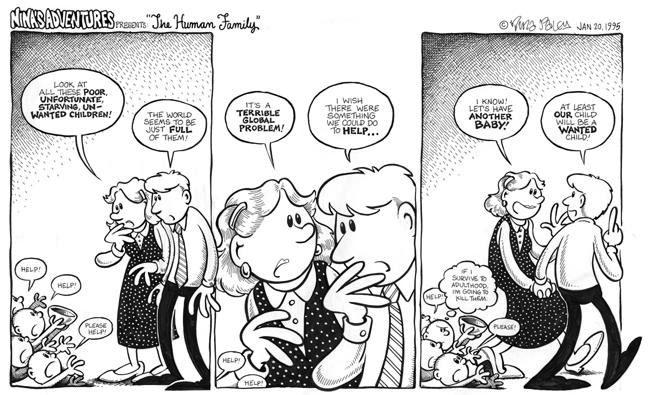 Comic Strip Nina Paley  Nina's Adventures 1995-01-20 food