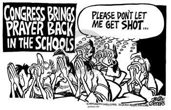 Cartoonist Mike Peters  Mike Peters' Editorial Cartoons 1999-06-12 shot