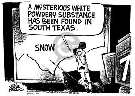 Cartoonist Mike Peters  Mike Peters' Editorial Cartoons 2002-01-03 meteorology