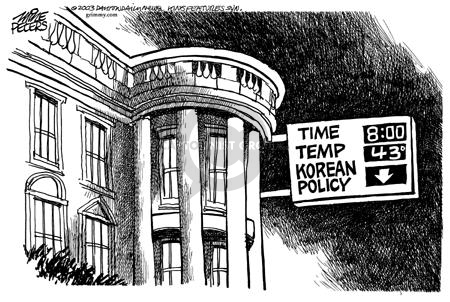 Cartoonist Mike Peters  Mike Peters' Editorial Cartoons 2003-01-11 national