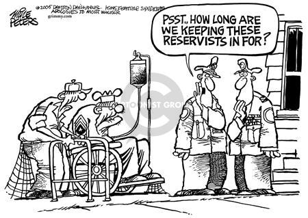 Cartoonist Mike Peters  Mike Peters' Editorial Cartoons 2005-01-13 Afghanistan