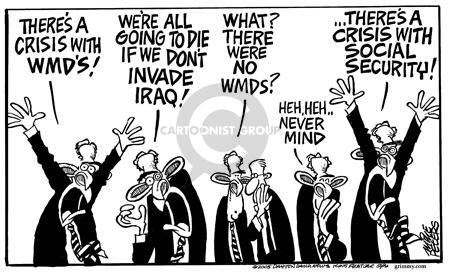 Mike Peters  Mike Peters' Editorial Cartoons 2005-01-15 WMD