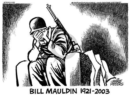 Cartoonist Mike Peters  Mike Peters' Editorial Cartoons 2003-01-25 World War II