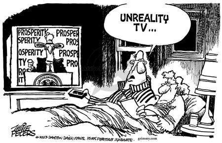 Mike Peters  Mike Peters' Editorial Cartoons 2003-02-01 bed