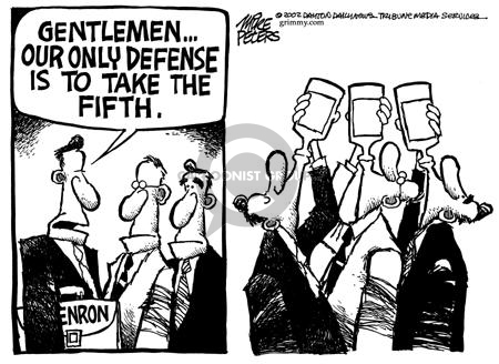 Cartoonist Mike Peters  Mike Peters' Editorial Cartoons 2002-02-14 self-defense