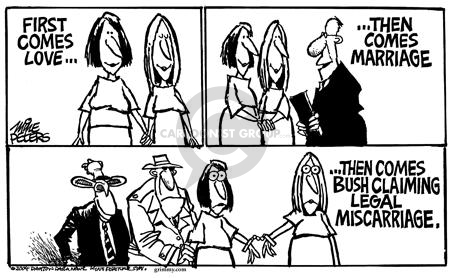 Cartoonist Mike Peters  Mike Peters' Editorial Cartoons 2004-02-15 challenge