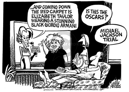 Mike Peters  Mike Peters' Editorial Cartoons 2005-02-19 Oscar