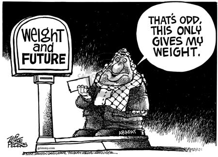 Cartoonist Mike Peters  Mike Peters' Editorial Cartoons 2002-02-20 weight