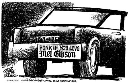 Mike Peters  Mike Peters' Editorial Cartoons 2004-02-20 affection