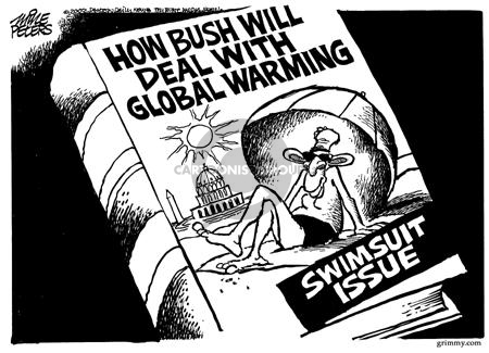 Mike Peters  Mike Peters' Editorial Cartoons 2002-02-21 environment