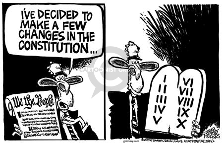 Cartoonist Mike Peters  Mike Peters' Editorial Cartoons 2004-02-26 religious liberty