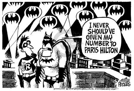 Cartoonist Mike Peters  Mike Peters' Editorial Cartoons 2005-02-26 Paris