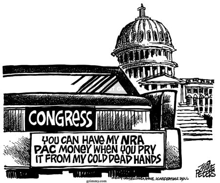 Congress.  You can have my NRA PAC money when you pry it from my cold dead hands.