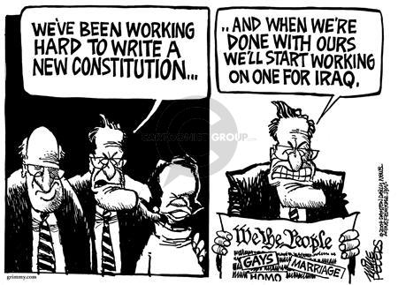 Cartoonist Mike Peters  Mike Peters' Editorial Cartoons 2004-03-06 liberty