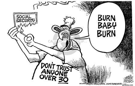 Cartoonist Mike Peters  Mike Peters' Editorial Cartoons 2005-03-06 generation