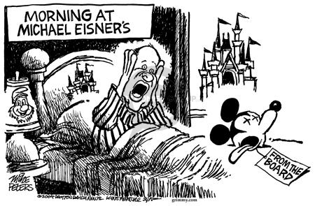 Mike Peters  Mike Peters' Editorial Cartoons 2004-03-07 bed