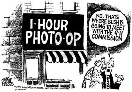Cartoonist Mike Peters  Mike Peters' Editorial Cartoons 2004-03-12 terrorist