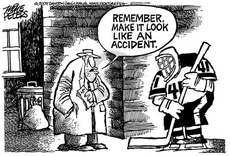 Mike Peters  Mike Peters' Editorial Cartoons 2004-03-14 accident
