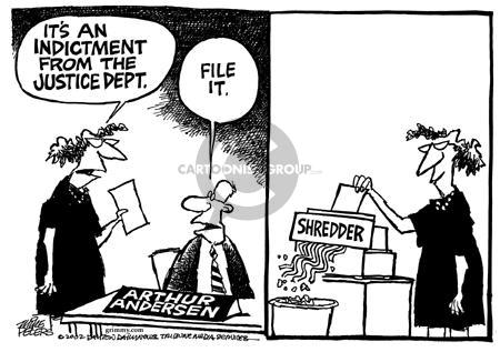 Cartoonist Mike Peters  Mike Peters' Editorial Cartoons 2002-03-17 crime