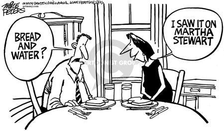 Cartoonist Mike Peters  Mike Peters' Editorial Cartoons 2004-03-18 diet