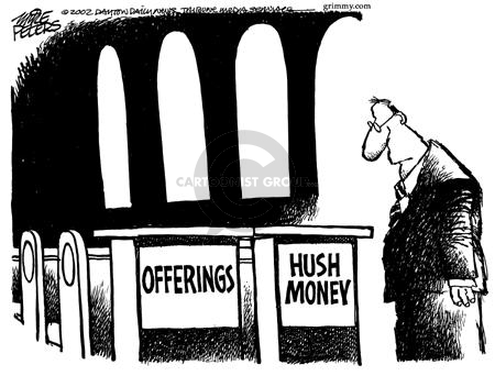 Mike Peters  Mike Peters' Editorial Cartoons 2002-04-05 settlement