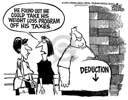 Cartoonist Mike Peters  Mike Peters' Editorial Cartoons 2002-04-06 weight